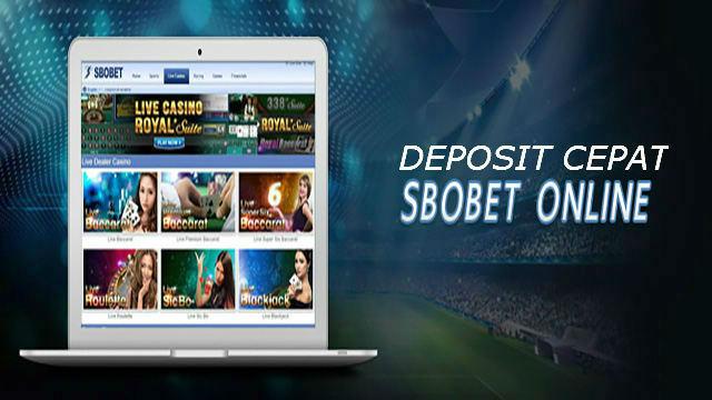 Deposit sbobet melalui aplikasi