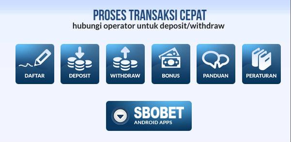 Prosest withdraw sbobet dengan cepat